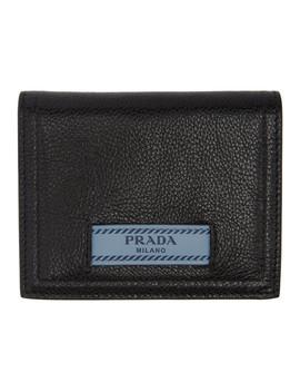 Black Etiquette Bifold Wallet by Prada