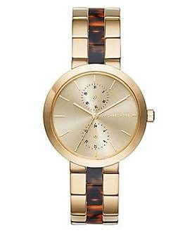 Gold Chronograph Watch by Michael Kors