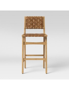 Ceylon Woven And Wood Barstool Brown & Natural Wood   Opalhouse™ by Shop All Opalhouse™