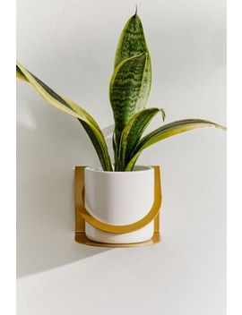 Kai Metal Bent Planter by Urban Outfitters