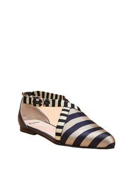 Jil Sander Navy Ballet Flats   Footwear D by Jil Sander Navy