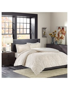 Syracuse Long Faux Fur Plush Comforter Mini Set by Target