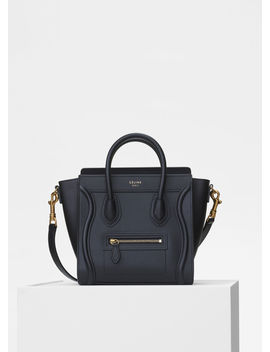 Nano Luggage Bag In Smooth Calfskin by Celine