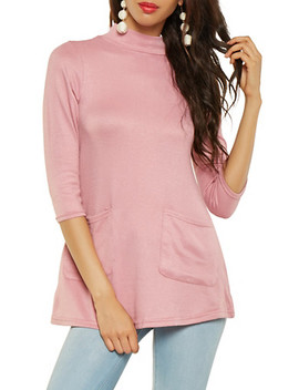 Knit Tunic Top by Rainbow