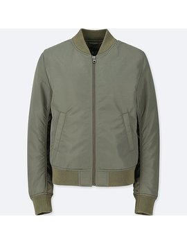 Women Ma 1 Bomber Jacket (Online Exclusive) by Uniqlo