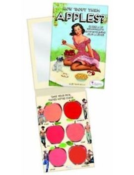 The Balm How Bout Them Apples Cheek And Lip Cream Palette 20g 6 Shades by The Balm