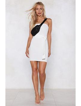 Born To Tie Bandeau Dress by Nasty Gal