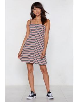 Align Yourself Striped Dress by Nasty Gal