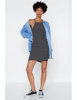 Set Yourself Straight Striped Dress by Nasty Gal