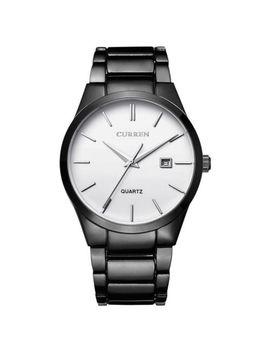 Curren Men Fashion Military Stainless Steel Analog Date Sport Quartz Wrist Watch by Curren