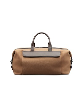 Camel Premium Holdall by Suitsupply