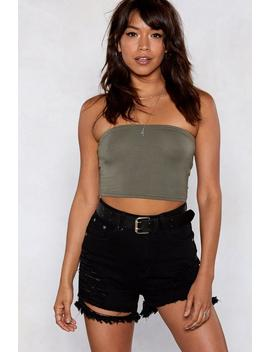 With The Bandeau Top by Nasty Gal
