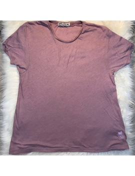 Wildfox Mauve Oversized Tee by Wildfox