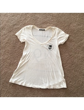 Wildfox V Neck T Shirt by Wildfox