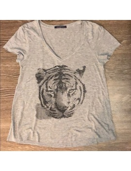 Wildfox Tiger  Graphic Tee Size Small by Wildfox
