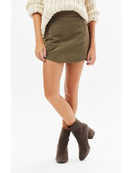 Corduroy Tulip Skirt by Pac Sun