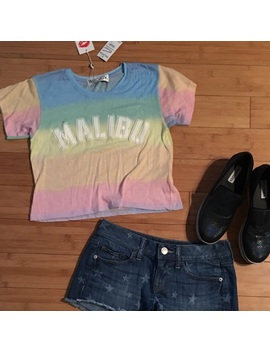 🆕Wildfox Malibu Sunscreen Crop Tee   Nwt by Wildfox