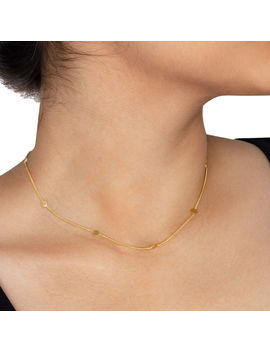 Modern Everyday Multi Circle Chain Necklace by Dogeared
