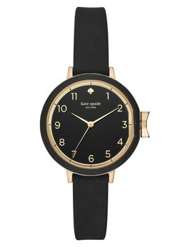 Park Row Silicone Strap Watch, 34mm by Kate Spade New York