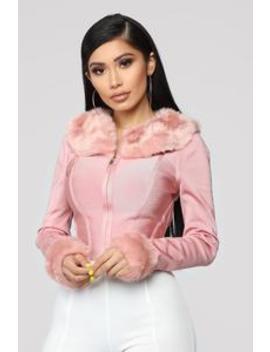 Not Plain Jane Bandage Jacket   Blush by Fashion Nova