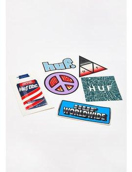 Sticker Pack by Huf