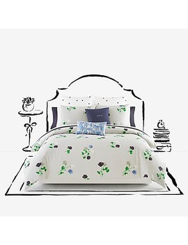 Kate Spade New York Willow Court Twin Comforter Set In Platinum by Bed Bath And Beyond