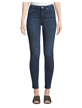 Looker High Waist Skinny Jeans by Mother