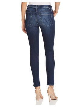 The Looker High Rise Skinny Jeans In Tongue In Chic by Mother