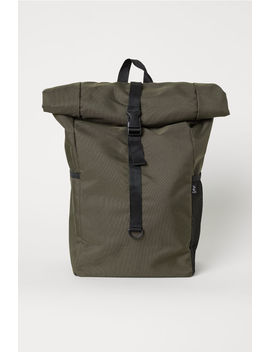 Backpack With Roll Top Opening by H&M