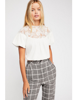 Sweeter Than Sugar Top by Free People