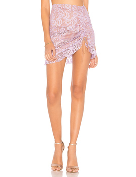Valentina Lace Mini Skirt by For Love & Lemons