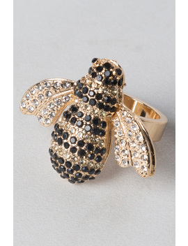 Kwane Bee Cocktail Ring by Akira