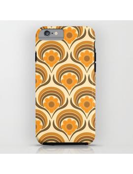 Orange  Daisy Dream I Phone Case by