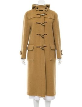 Burberry Vintage Hooded Coat by Burberry