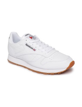 Reebok Men White Classic Casual Shoes by Reebok Classic