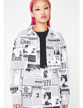 Carrie Paper Jacket by Local Heroes
