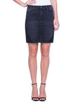 Slit Hem Skirt by Liverpool