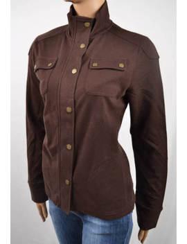 Lauren Ralph Lauren Brown Jacket Brass Buttons Nwt M by Lauren Ralph Lauren