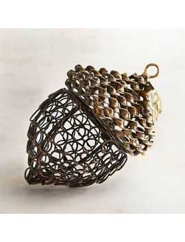 Metal Acorn Basket by Pier1 Imports