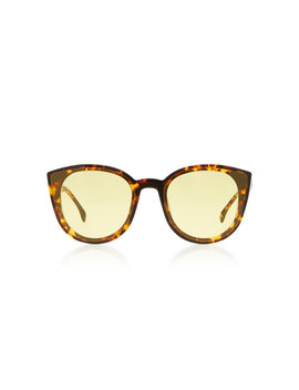 Denora Cat Eye Tortoiseshell Sunglasses by Spektre