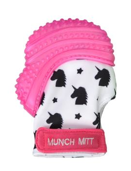 Unicorn Print Teething Mitt by Munch Mitt