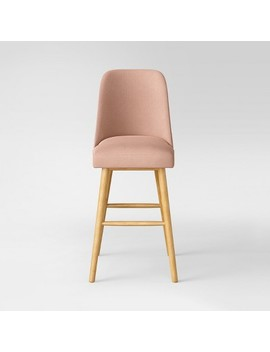 "Geller Modern 30"" Barstool Blush With Natural Oak Finish   Project 62™ by Shop All Project 62™"