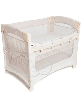 Arm's Reach Concepts Ideal Ezee 3 In 1 Bedside Bassinet   Natural by Arm's Reach
