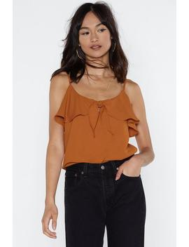 Tie Me To The Moon Cami Top by Nasty Gal