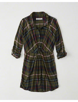 Plaid Shirtdress by Abercrombie & Fitch
