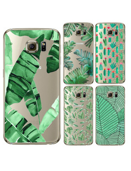 Green Plant Desert Cactus Case For Coque Samsung Galaxy J3 J5 A3 A5 2016 2015 Core Grand Prime S3 S4 S5 S6 S7 Edge Case Cover by Samsung