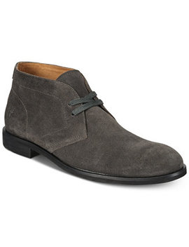 Men's Scott Suede Chukka Boots, Created For Macy's by Frye