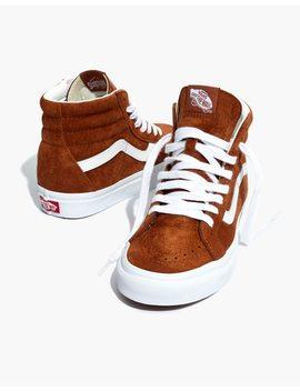 Vans® Unisex Sk8 Hi Reissue High Top Sneakers In Brown Suede by Madewell