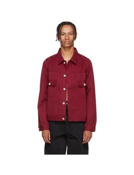 Burgundy 101 Park Ranger Jacket by Visvim