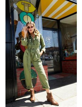 Girl Utility Fine Jumpsuit by Nasty Gal